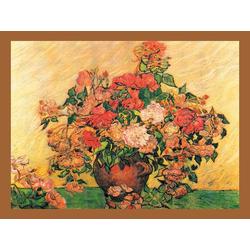 DELAVITA Bild mit Rahmen VAN GOGH / Vase mit Rosen, (1 Stück)