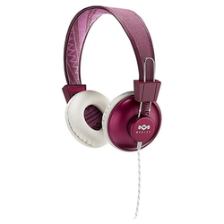 House of Marley POSITIVE VIBRATION Kopfhörer / Headset Kopfhörer (Purple - EM-JH011-PU) rot