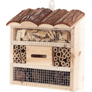 "Insektenhotel ""Marie"", Nisthilfe für Nützlinge, 20 x 20 x 7 cm"