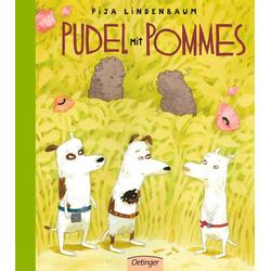 Pudel mit Pommes als Buch von Pija Lindenbaum