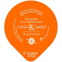 CHIARA AMBRA Schlafmaske Chrysanthemen 1 Stk.