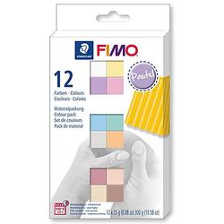 "Fimo-Soft/Effect ""Pastellfarben-Set"", 12 Farben"