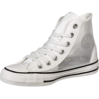 Converse Chuck Taylor All Star Hi white-transparent/ white, 39