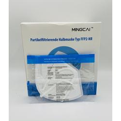MINGCAI MC-B016 FFP2 Atemmaske CE-Zertifiziert & EN149-2001 (50 Stück)