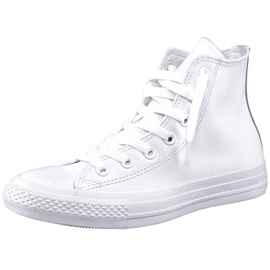 Converse Chuck Taylor All Star Mono Leather High Top white monochrome 45