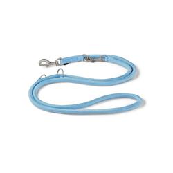 Wolters Hundeleine K2 Tau, Nylon blau L - 1 cm x 2 m