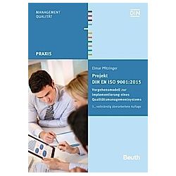 Projekt DIN EN ISO 9001:2015. Elmar Pfitzinger  - Buch