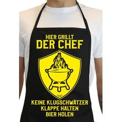 Soreso® Grillschürze Hier Grillt der Chef, (2-tlg), Made in Deutschland!