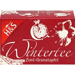 H&S Wintertee Zimt-Granatapfel Filterbeutel 40 g