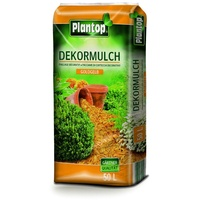 Plantop Dekormulch gelb 10-40 mm 50 l