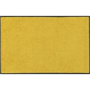 wash+dry Fußmatte, Honey Gold 60x180 cm, innen und außen, waschbar