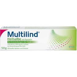 MULTILIND Heilsalbe m.Nystatin u.Zinkoxid 50 g