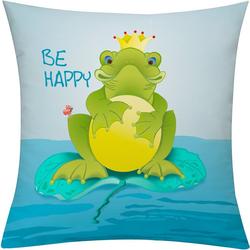 emotion textiles Kissenhülle Frog