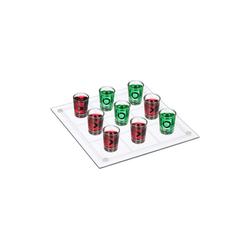 relaxdays Spiel, Tic Tac Toe Trinkspiel XL