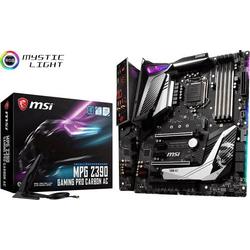 MSI Gaming MPG Z390 GAMING PRO CARBON AC Mainboard Sockel Intel® 1151v2 Formfaktor ATX Mainboard-Ch