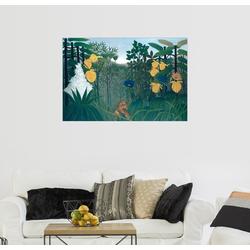 Posterlounge Wandbild, Das Löwenmahl 91 cm x 61 cm