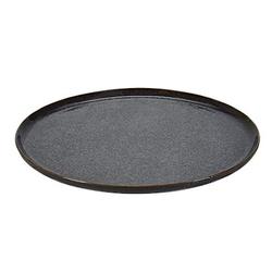 Bahne & Co Tablett Rund Blaulila 30.5 cm