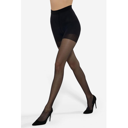 Lavard Schwarze modellierende Strumpfhose für Damen 20 DEN 85651  2