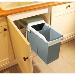 HAILO Multi-Box 2 x 15 Liter - Einbau-Mülltrennungs-System