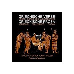 Griechische Verse - Griechische Prosa - Hörbuch