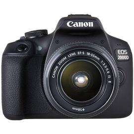 Canon EOS 2000D + EF-S 18-55 IS II