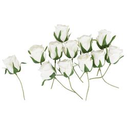 Kunstblume Rosenknospen, VBS, 12 Stück