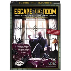 Thinkfun® Escape the Room: Das Geheimnis des Refugiums von Dr. Gravely Escape-Room Spiel
