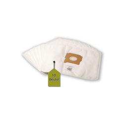 eVendix Staubsaugerbeutel Staubsaugerbeutel kompatibel mit Zelmer Furio, 10 Staubbeutel + 1 Mikro-Filter ähnlich wie Original Zelmer Staubsaugerbeutel Serie 2000, 3000, passend für Zelmer