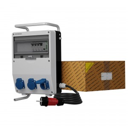 Stromverteiler TD-S/FI 3x230V Stromzähler MID Kabel Doktorvolt® 0489
