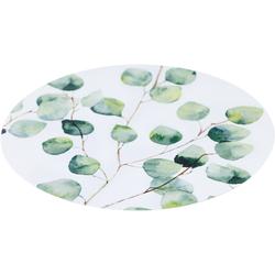 MYSPOTTI Duscheinlage Klebefliese stepon Björk, Kreis, Klebefliese, Antirutsch-Aufkleber, Breite 30 cm bunt