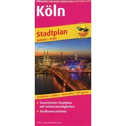 Köln. Stadtplan 1:18 000