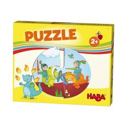 Haba Puzzle HABA Lieblingsspiele - Puzzles Ritter und, Puzzleteile