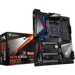 Gigabyte X570 AORUS MASTER Mainboard Sockel AMD AM4 Formfaktor ATX Mainboard-Chipsatz AMD® X570