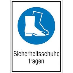 SafetyMarking® Gebotsschild - Sicherheitsschuhe tragen