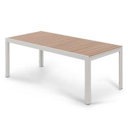 Ausziehbarer Gartentisch, ca. 200/300 cm