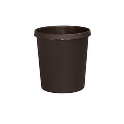 Helit Papierkorb H61058, 18 Liter braun