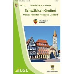 Schwäbisch Gmünd 1:25 000