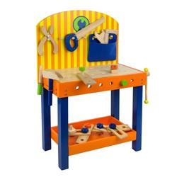 Kinderwerkbank Benji Kinder Holz Werkbank mit Werkzeug Werkstatt