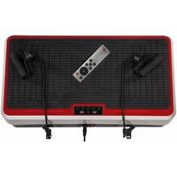 CHRISTOPEIT Vibrationsplatte Vibro 2 schwarz/rot