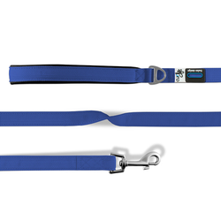 Curli Basic Leine Nylon blau, Maße: 140 cm / 1,5 cm