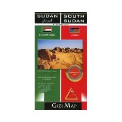 Sudan & South Sudan 1 : 2 500 000