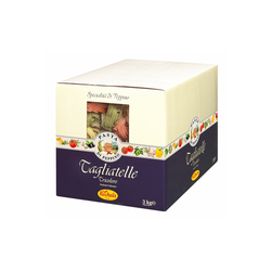 Tagliatelle tricolore 3kg Karton - Recheis
