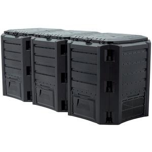 PROSPERPLAST Schnellkomposter Compothermo, BxTxH: 198x72x83 cm, 1200 l
