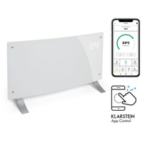 Klarstein Bornholm Curved Smart Konvektionsheizgerät 2000W App-Steuerung Timer