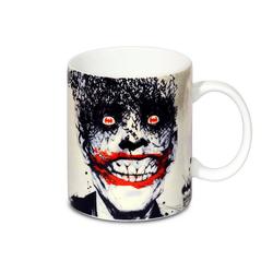 LOGOSHIRT Tasse mit tollem Print DC Comics - Batman - Joker Bats weiß