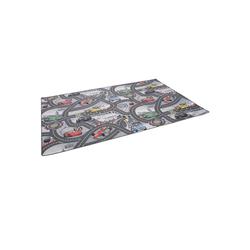 Kinderteppich Kinder und Spielteppich Disney Cars Grau, Snapstyle, Höhe 4 mm 140 cm x 200 cm x 4 mm