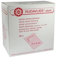 Rudavlies Verbandpflaster 10 cm x 8 cm steril 50 St.