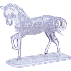 HCM Kinzel 3D Crystal Puzzle Pferd 100 Teile