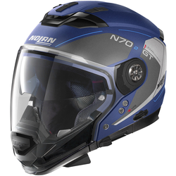 Nolan N70-2 GT Lakota N-Com Helm, blau, Größe S