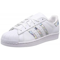 adidas Superstar white-glitter silver/ white, 38